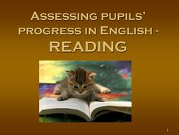Assessing Student Progress in English - Reading