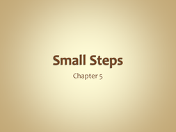 Smal Steps chapter 5.ppt