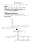 Poetic Devices crossword