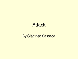 Poetry lesson- Attack