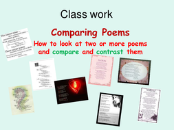 Comparing poems on Relationships