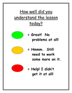 Assessment for learning posters for your classroom