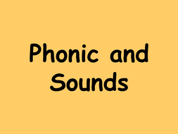 Phoneme PowerPoint