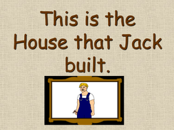 The House that Jack Built PowerPoint