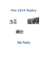 War Poetry Handout