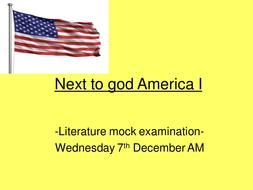 Next to god America I.ppt