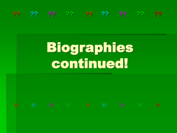 Biographies_lesson2.ppt