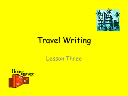 Travel_Writing.ppt