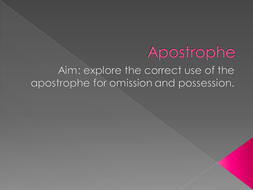 Apostrophies.ppt