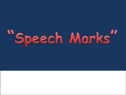 Speech Marks - Festive PowerPoint