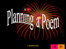 Poetry: Planning frame