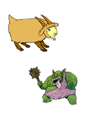 Billy Goats Gruff: match the quote