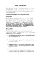 Strange Fruit Essay Plan.doc
