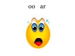 phonics  'oo' and 'ar' words