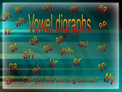 Presentation on Vowel Digraphs