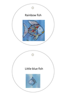 Rainbow Fish Character pictures - for acting out the story