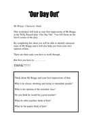 Mr Briggs Character Study