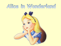 Alice in Wonderland PowerPoint Story