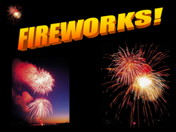 Fireworks - with sounds.ppt