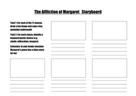 Affliction of Margaret storyboard