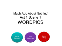 MUCH ADO - LANGUAGE FOCUS 4