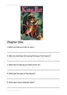 King Rat by Bernard Ashley Guided Reading Workbook