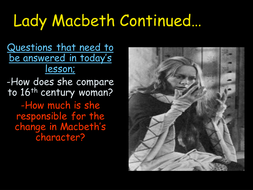 Lady Macbeth Continued.ppt