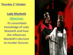 Lady Macbeth character analysis