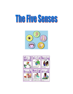 Five Senses Synonyms Booklet