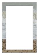 Page borders. Seaside