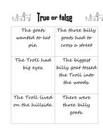 Billy Goats True or false
