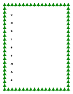 Acrostic poem template - Christmas