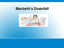 Macbeth essay: downfall of Macbeth-with prompts
