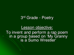 My Granny is a Sumo Wrestler[1].ppt