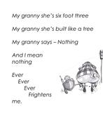My Granny is a Sumo Wrestler -3rd Grade