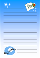 Letter to Father Christmas template