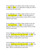 Your_challenge_is_to_find_as_many_words_as_you_can_for_said_.doc