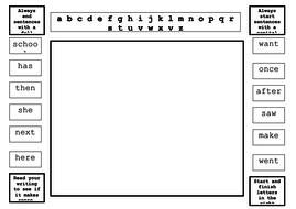 Literacy mat