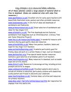 Useful Websites for Elementary Teachers