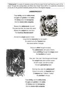 Jabberwocky - Portmanteau lesson resources