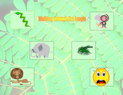 Book Based Game: Walking through the Jungle.