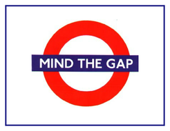 Mind the Gap - spelling activity