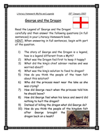 George and the Dragon comprehension