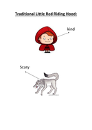 Little Red Riding Hood character role reversal