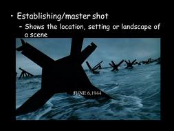 Saving Private Ryan Camera Shots PowerPoint