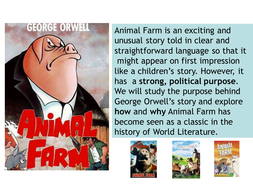 Animal Farm: activities for each chapter
