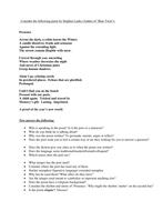 'Presence' by Stephen Leake.  Contemporary Christmas poem.
