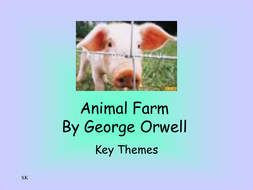 Animal Farm themes PowerPoint