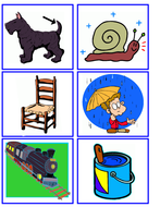 Phonics Picture Cards 1