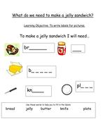 How to make a jam sandwich